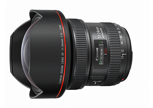 EF11-24mm f/4L USM<br> Released in Japan in<br>February 2015