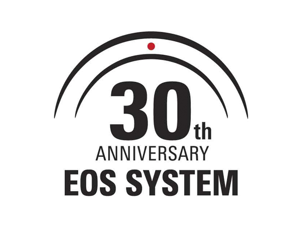 The EOS System 30th anniversary commemorative logo