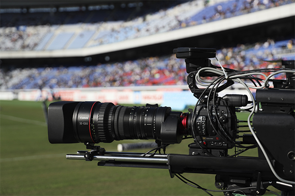 8K camera and lens used for video capture