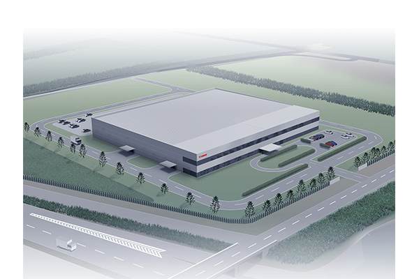 The new Canon Mold plant (CG rendering)