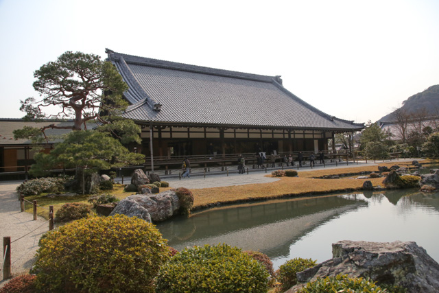 Large abbot's chamber beyond Sogen Pond Garden, a Japanese Site of Special Historic and Scenic Importance