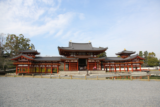 Byodoin Temple, a World Heritage Site