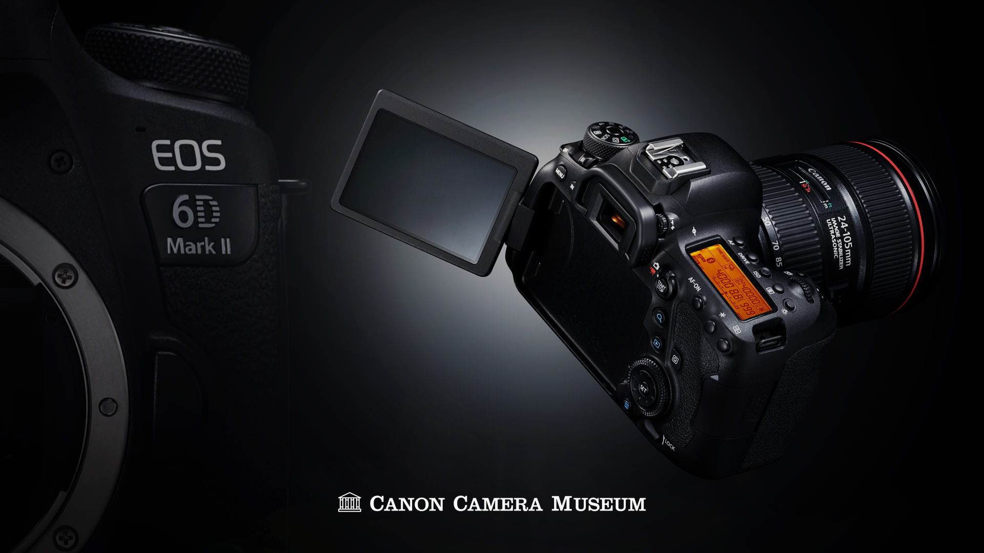 EOS 6D Mark II 1st Full Frame Camera Featuring Vari Angle LCD Monitor On The Worlds Lightest Body