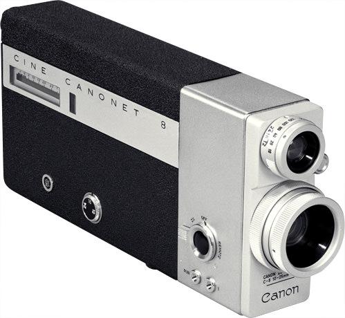Cine Canonet 8 - Canon Camera Museum