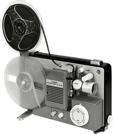 Cine projector s 400 canon camera museum for Exterior 400 image projector price