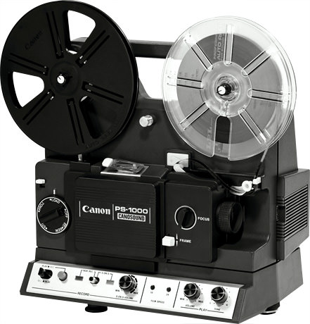 CINE PROJECTOR PS-1000 - Canon Camera Museum