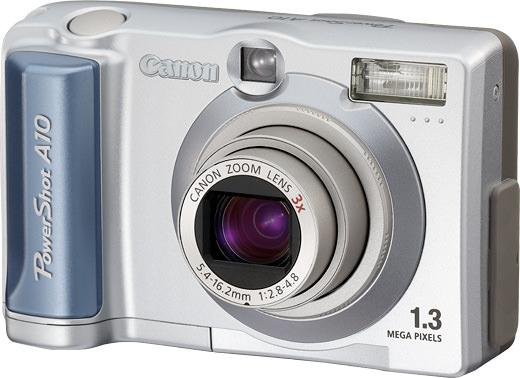 Powershot A10 Canon Camera Museum